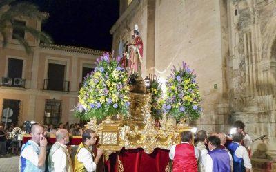 Traslado de San Bartolomé, Patrón de Cieza a la Basílica de Nuestra Señora de la Asunción